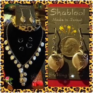 Tahitian Pearls Necklace & Earrings